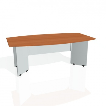Jednací stůl Hobis GATE GJ 200, třešeň/šedá