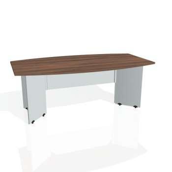 Jednací stůl Hobis GATE GJ 200, ořech/šedá