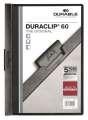 Desky s klipem DURACLIP 60, A4 černá