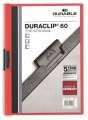 Desky s klipem DURACLIP 60, A4 červená