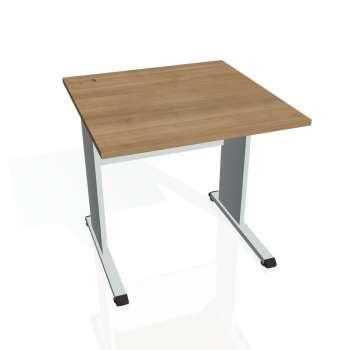 Psací stůl Hobis PROXY PS 800, višeň/šedá