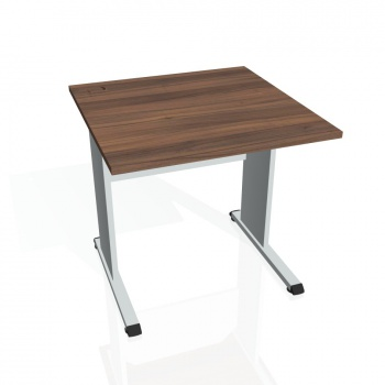 Psací stůl Hobis PROXY PS 800, ořech/šedá