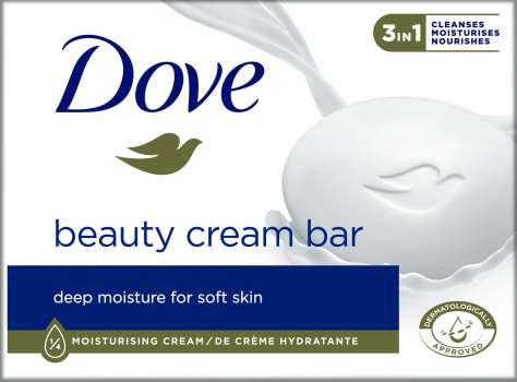 Mýdlo Dove - tuhé, 100 g
