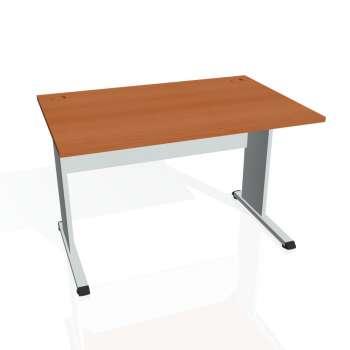 Psací stůl Hobis PROXY PS 1200, třešeň/šedá