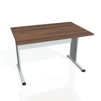 Psací stůl Hobis PROXY PS 1200, ořech/šedá