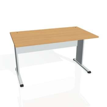 Psací stůl Hobis PROXY PS 1400, buk/šedá