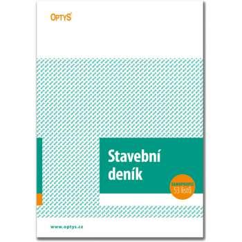 Stavební deník Optys - A4