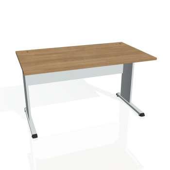 Psací stůl Hobis PROXY PS 1400, višeň/šedá