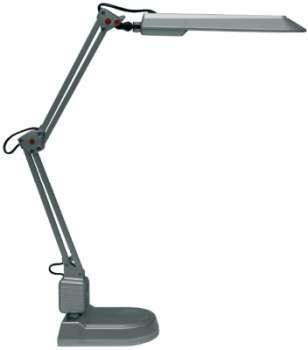 Polohovatelná lampa Ecolite ADEPT - stříbrná