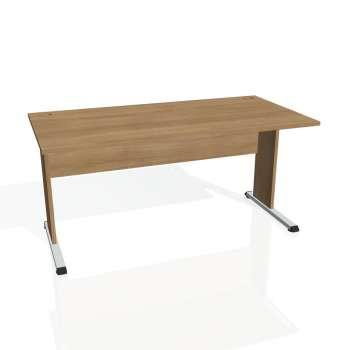 Psací stůl Hobis PROXY PS 1600, višeň/višeň