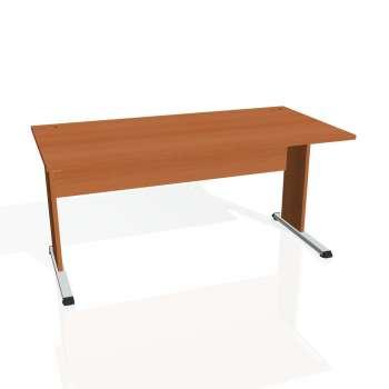 Psací stůl Hobis PROXY PS 1600, třešeň/třešeň