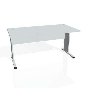 Psací stůl Hobis PROXY PS 1600, šedá/šedá