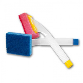 Houbička s dávkovačem - Clean FIX