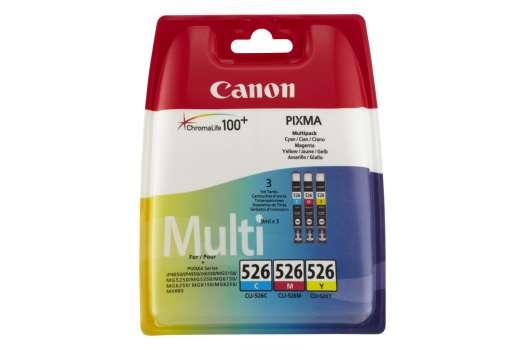 Sada cartridge Canon CLI-526CMY - azurová/purpurová/žlutá