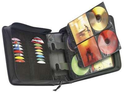 Organizér Case Logic Classic Black Wallet - 224 CD/DVD, černá