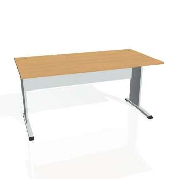Psací stůl Hobis PROXY PS 1600, buk/šedá