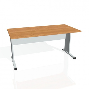 Psací stůl Hobis PROXY PS 1600, olše/šedá