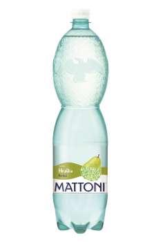 Ochucená minerální voda Mattoni - Hruška, 6 x 1,5 l, perlivá