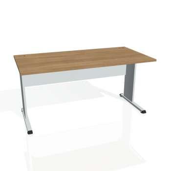 Psací stůl Hobis PROXY PS 1600, višeň/šedá