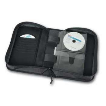 Organizér Case Logic Classic Black Wallet - 100 CD/DVD, černá