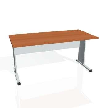 Psací stůl Hobis PROXY PS 1600, třešeň/šedá