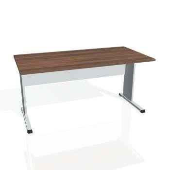 Psací stůl Hobis PROXY PS 1600, ořech/šedá