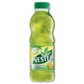 Ledový čaj Nestea - zelený scitronem, 12 x 0,5 l