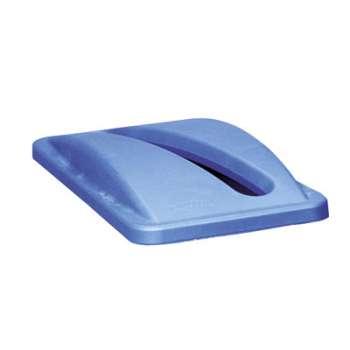 Víko SJ na tříděný odpad na papír, modré