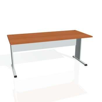 Psací stůl Hobis PROXY PS 1800, třešeň/šedá