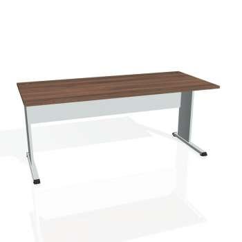 Psací stůl Hobis PROXY PS 1800, ořech/šedá