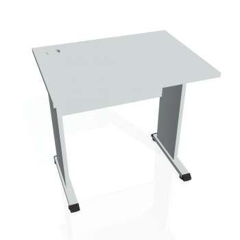 Psací stůl Hobis PROXY PE 800, šedá/šedá