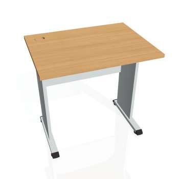 Psací stůl Hobis PROXY PE 800, buk/šedá