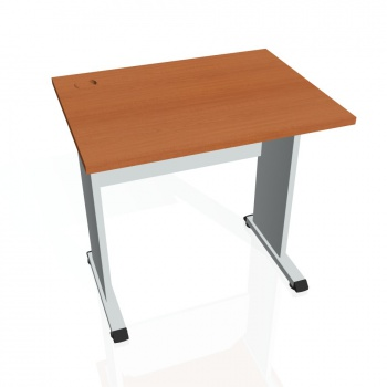 Psací stůl Hobis PROXY PE 800, třešeň/šedá