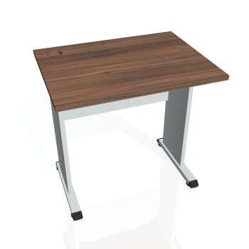 Psací stůl Hobis PROXY PE 800, ořech/šedá