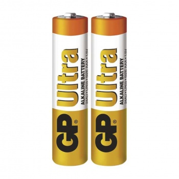 Baterie GP Ultra Alkaline 1,5 V R03, typ AAA, 2 ks