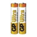 Baterie GP Ultra Alkaline LR03 1,5 V typ AAA, 2 ks