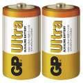 Baterie GP Ultra Alkaline R14, C-malé mono, 1,5 V