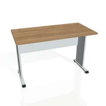 Psací stůl Hobis PROXY PE 1200, višeň/šedá