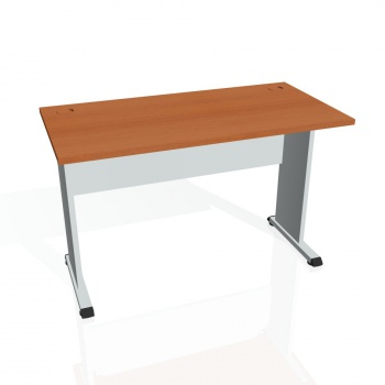 Psací stůl Hobis PROXY PE 1200, třešeň/šedá