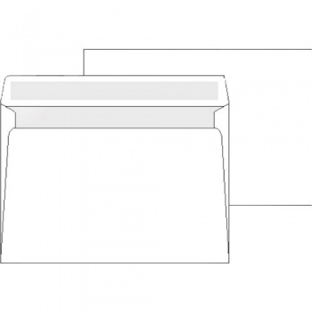 Obálky Office Depot- C4, obyčejné, bílé, 250 ks