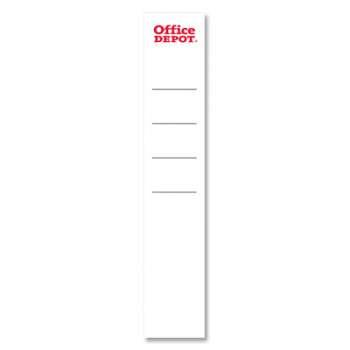 Zasouvací etikety pro pákové pořadače Office Depot - hřbet 5 cm, 25 ks