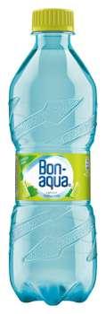 Bonaqua ochucená voda - limetka a máta, 12 x 0,5 l