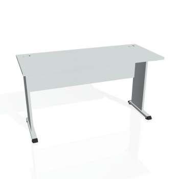 Psací stůl Hobis PROXY PE 1400, šedá/šedá