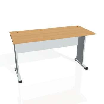 Psací stůl Hobis PROXY PE 1400, buk/šedá