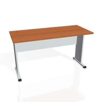 Psací stůl Hobis PROXY PE 1400, třešeň/šedá