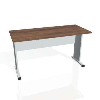 Psací stůl Hobis PROXY PE 1400, ořech/šedá