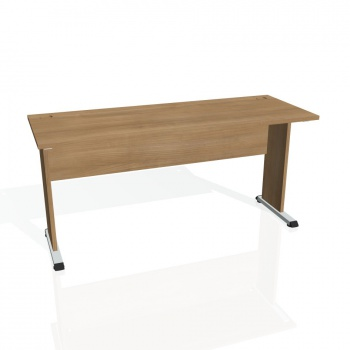 Psací stůl Hobis PROXY PE 1600, višeň/višeň
