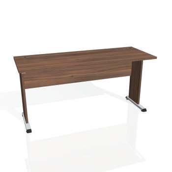 Psací stůl Hobis PROXY PE 1600, ořech/ořech