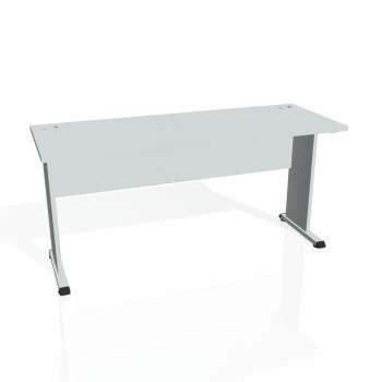 Psací stůl Hobis PROXY PE 1600, šedá/šedá