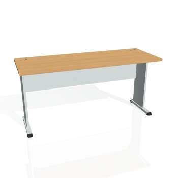 Psací stůl Hobis PROXY PE 1600, buk/šedá